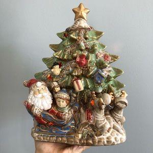 Vintage Kirklands Christmas Tree Night Light
